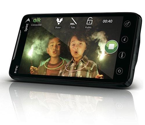 htc evo 4g supersonic android Sprint HTC Evo 4G : Première pub