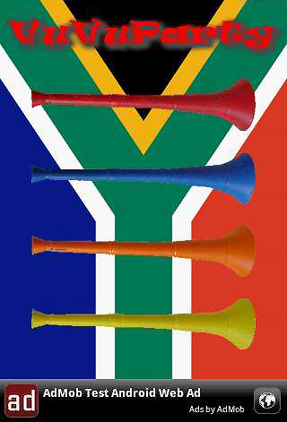 screenshot vuvuparty VuvuParty, Virtual Vuvuzela & Vuvuzela Nightmare